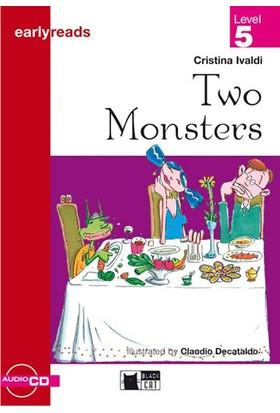 Two Monsters Earlyreaders Level 5 Black Cat - Cristina Ivaldi