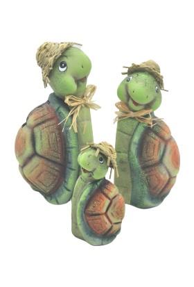 Nazar Antalya Kaplumbağa Ailesi 3 lü