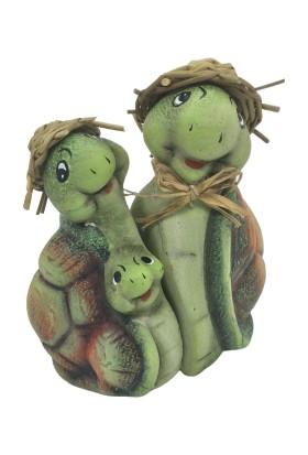 Nazar Antalya Kaplumbağa Ailesi Anne, Baba, Bebek
