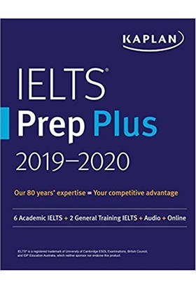 Kaplan Ielts Prep Plus 2019-2020 (4Th Ed.)