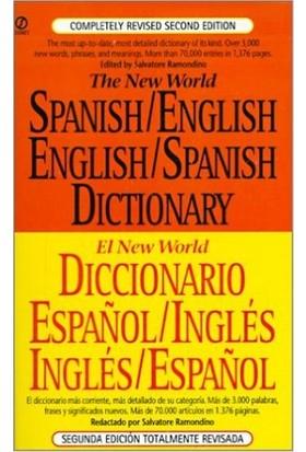 The New World Spanish/English, English/Spanish Dictionary