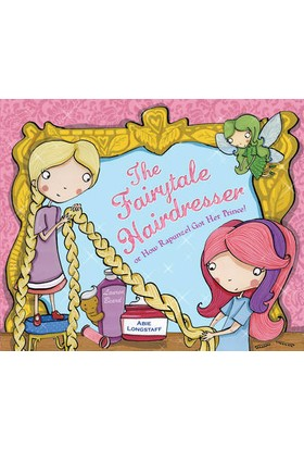 Fairy Tale Hairdresser And Rapunzel
