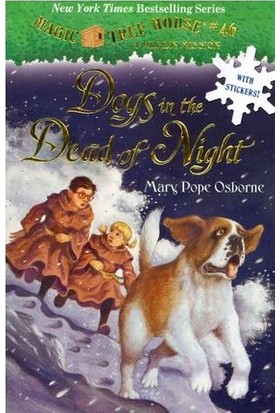 Magic Tree House 46: Dogs İn The Dead Of Night