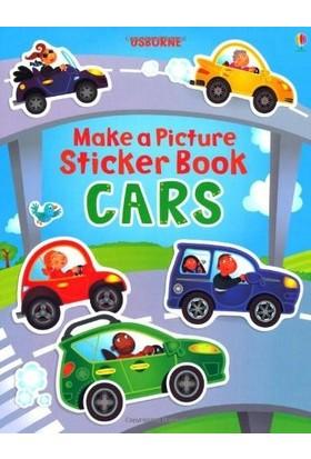 Make A Picture Sticker Book: Cars