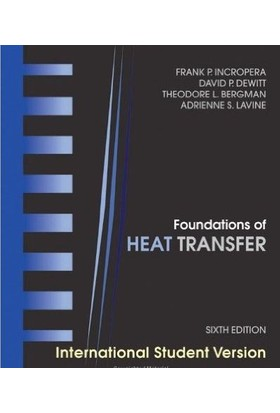 Foundations Of Heat Transfer, 6Th