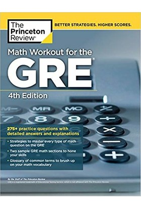 Math Workout For The Gre (4Th Ed.)