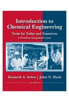 Introduction Chemical Engineering 5E Wse