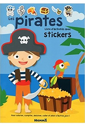 Les Pirates (Livre D'Activites Avec Stickers)