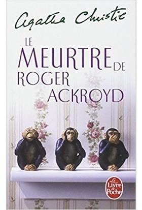 Le Meurtre De Roger Ackroyd