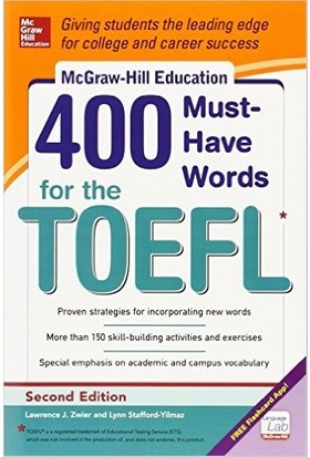 400 Must-Have Words For The Toefl 2Nd Ed.