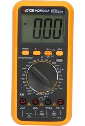 Tt Technic Vc 9804A Dijital Multimetre Ölçü Aleti