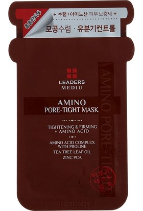 Leaders Mediu Amino Pore Tight Mask