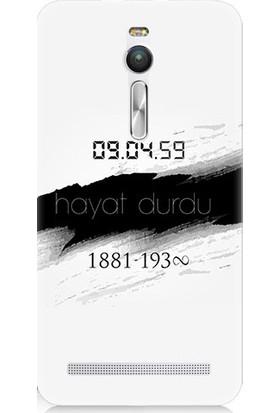 Teknomeg Asus Zenfone 2 10 Kasım Ve Atatürk Desenli Tasarım Silikon Kılıf