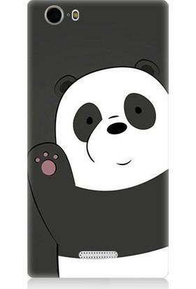 Teknomeg Casper Via M1 Sevimli Panda Desenli Tasarım Silikon Kılıf