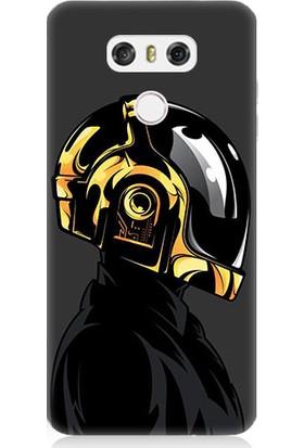 Teknomeg LG G6 Daft Punk Desenli Tasarım Silikon Kılıf