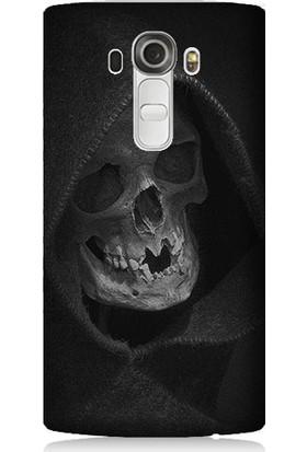 Teknomeg LG G4 Beat Ölüm Meleği Desenli Tasarım Silikon Kılıf