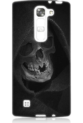 Teknomeg LG G4c Ölüm Meleği Desenli Tasarım Silikon Kılıf