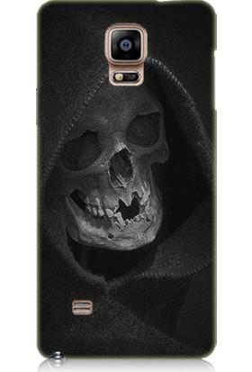 Teknomeg Samsung Galaxy Note 4 Ölüm Meleği Desenli Tasarım Silikon Kılıf