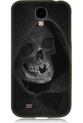 Teknomeg Samsung Galaxy S4 Ölüm Meleği Desenli Tasarım Silikon Kılıf