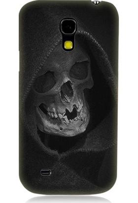 Teknomeg Samsung Galaxy S4 Mini Ölüm Meleği Desenli Tasarım Silikon Kılıf