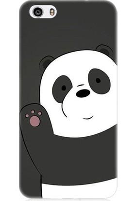 Teknomeg Vestel Venüs V3 5570 Sevimli Panda Desenli Tasarım Silikon Kılıf
