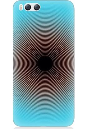 Teknomeg Xiaomi Mi 6 Bordo Mavi Desenli Tasarım Silikon Kılıf