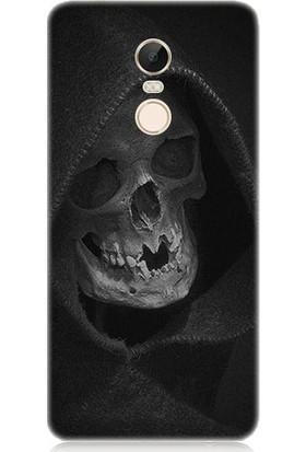 Teknomeg Xiaomi Redmi Note 4x Ölüm Meleği Desenli Tasarım Silikon Kılıf