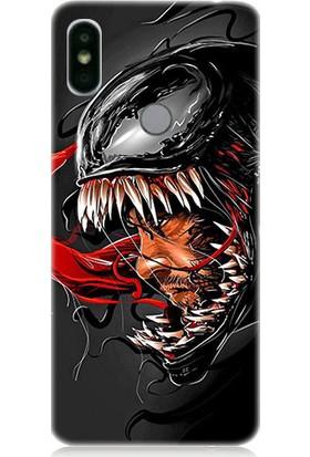 Teknomeg Xiaomi Redmi S2 Venom Desenli Tasarım Silikon Kılıf