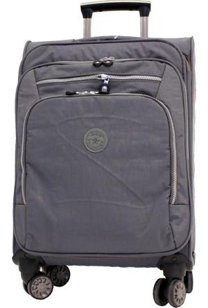 3bd982f800aab Ççs 411-3 Krinkle Kumaş 8 Tekerlekli Kabin Boy Valiz, Bavul
