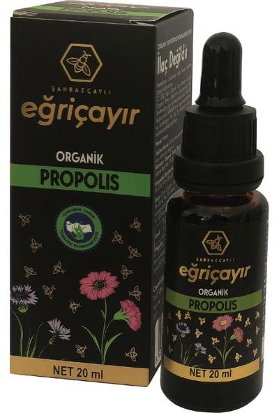 Eğriçayır Organik Propolis 20 ml (Organik Alkol Bazlı)