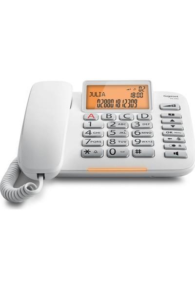 Gigaset DL580 Beyaz Masaüstü Kablolu Telefon