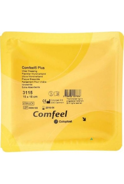 Coloplast Comfeel Ülser Yara Örtüsü 10 X 10