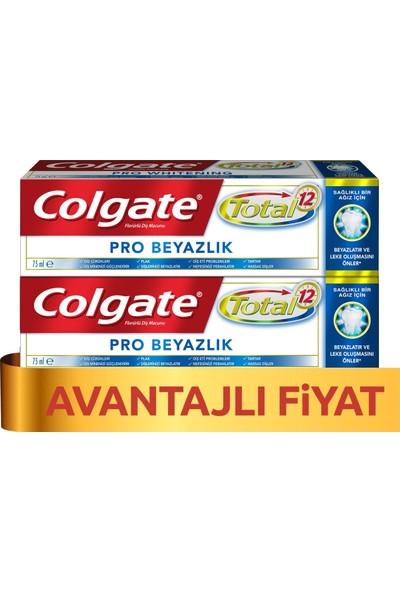 Colgate Total Profesyonel Beyazlık Diş Macunu 75 ml x 2 Adet