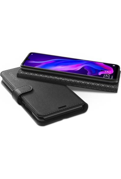 Spigen Huawei P30 Lite / Nova 4e Kılıf Wallet S Black - L39CS25744
