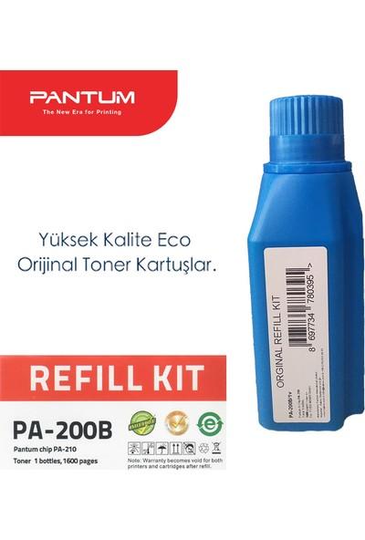 Pantum PA-200Bv1 Toner Dolum Kiti (1 Adet Şişe ve 1 Adet Çip)