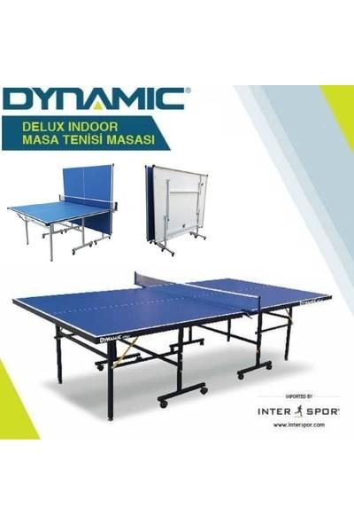 Dynamic Delux İndoor Masa Tenisi Masası - 16mm - 2 Raket, 3 Top ve Ağdemir Hediyeli