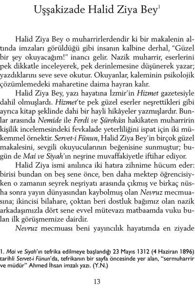 Mai Ve Siyah (Günümüz Türkçesiyle) - Halid Ziya Uşaklıgil