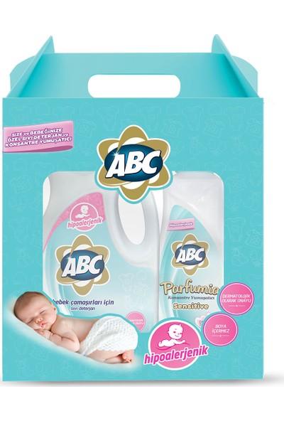 ABC Sensitive Ürün Seti (Sıvı Çamaşır Deterjanı + Konsantre Yumuşatıcı)