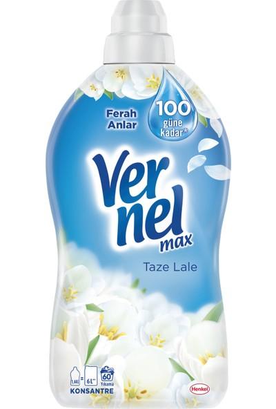 Vernel Max Konsantre Çamaşır Yumuşatıcısı Taze Lale 1440 ml 60 Yıkama