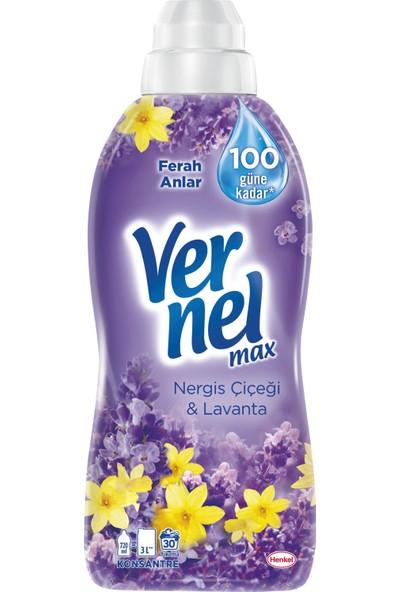 Vernel Max Nergiz Çiçeği&Lavanta 720 ml 30 Yıkama