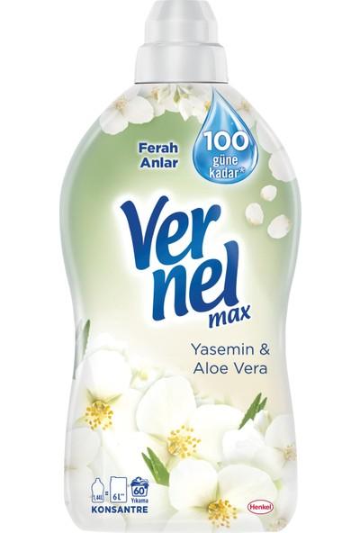 Vernel Max Yasemin & Aloe Vera Konsantre Çamaşır Yumuşatıcı 1440 Ml