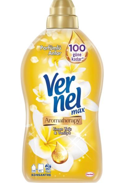 Vernel Max Konsantre Çamaşır Yumuşatıcısı Aromatherapy İlham Kaynağı 1440 ml 60 Yıkama