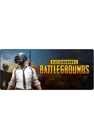 Serel PUBG 4 Oyuncu Mouse Pad 70x30 Playerunknown's Battlegrounds