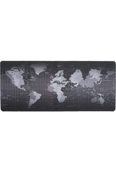 Serel Comtech World Map Oyuncu Mouse Pad 900 x 400 x 3 mm