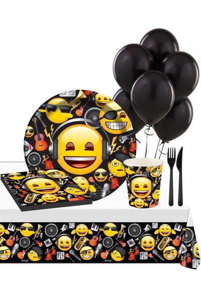 Roll-up Genç Emoji Parti Seti 16 Kişilik 113 Parça