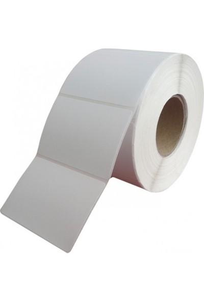 Özsaraç Etiket Kuşe Etiket 40 x 10 1000Li Sarım
