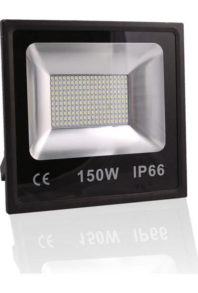 Impac Smd Led Projektör 150w 150 WattBeyaz Işık Siyah Kasa