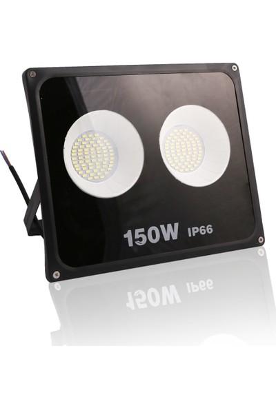 Impac Smd Led Projektör 150w 150 Watt Beyaz Işık Siyah Kasa