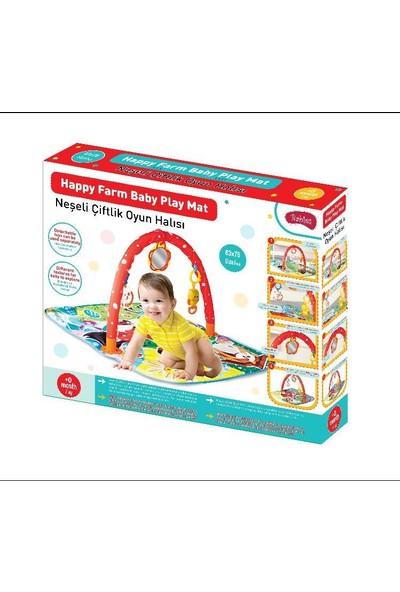 Babies Neşeli Çiftlik Aynalı Bebek Oyun Halısı
