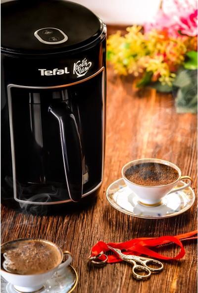 Tefal CM820 Köpüklüm Közde Pişirme Özellikli Tekli Otomatik Türk Kahvesi Makinesi Siyah - 9100034359